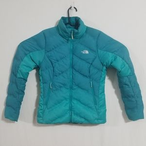 North Face Womens Small Blue 700 Down Jacket Coat